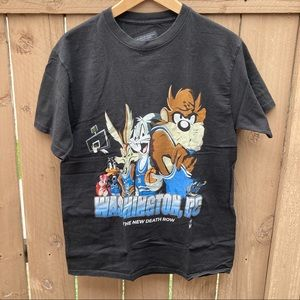 Looney Tunes Basketball Merch by Martez Tee